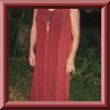 Pleated dress copied from
