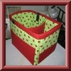 Craft Apple Car Organizer
