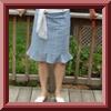 11-2008-110 Godet Skirt