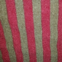 Brown and red striped