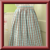 vintage-style skirt