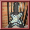 Rock Star Guitar Pillow