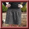Easy gathered skirt