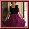 Cabriolet Wrap Over Skirt