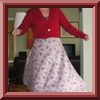 Half-circle skirt