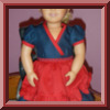 Kimono Dress Doll Clothes