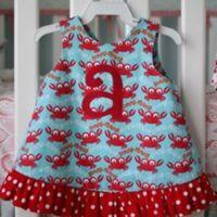 Baby Girl Pinafore