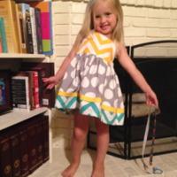 Girls Summer Halter dress