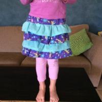 Lexi Ruffle Skirt