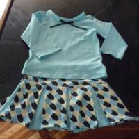 Children's Pleated Skirt