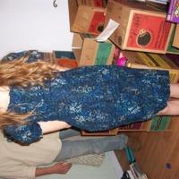 R's First Dress