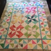 Honeysweet Pinwheel Quilt