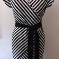 Tia Knit Wrap Dress
