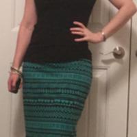 Gertie Knit Pencil Skirt