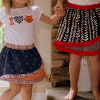 RufflePOP! skirt