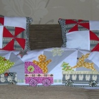 Scandi Xmas Cushion Set