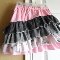 Shapla Ruffle Skirt