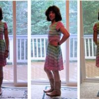 Kitschy Coo: Lady Skater Dress by chenille