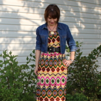 Sis Boom: Meghan Peasant Dress by ShanniLoves
