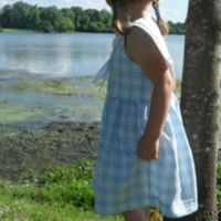 Tie Dye Diva: Sailor Dress by newmama