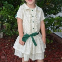 Ellie Inspired: Texas Rose Shirtdress by newmama