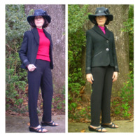 Self Drafted Pattern: 45793-1021 by nancy2001