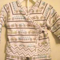 Amy Butler: Little Stitches Kimono PJ by wildbluestarz