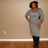 Trixi Knit Wrap Dress