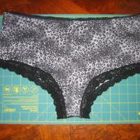 Panties copied from RTW