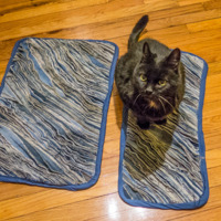 Martha Stewart Denim Rug