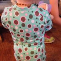 Peek-a-Boo Pattern Shop: Aloha Burn Blocker Suit by schmammy