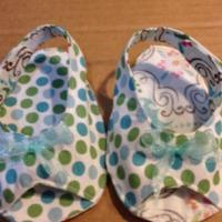 Peek-a-Boo Pattern Shop: Open-Toe Slingbacks by schmammy