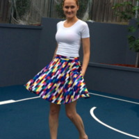 Pattern Emporium: Ladies Skater Skirt by Marnie D