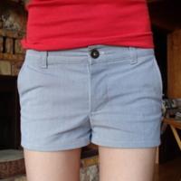 Owly baby shorts