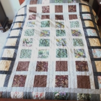 Self Drafted Quilt