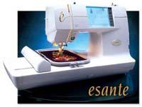 esante ese2 sewing machine