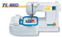 Brother Pe 400d Sewing Machine