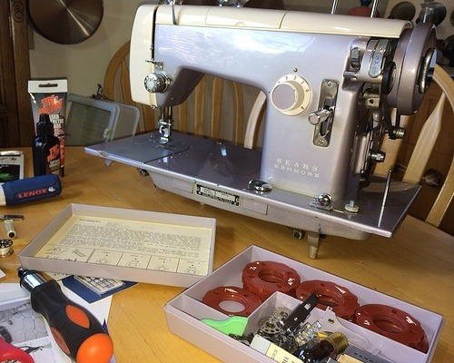 kenmore 158 sewing machine review