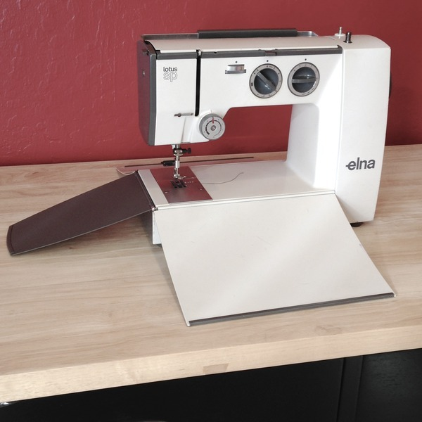 Elna Lotus SP 40 Sewing Machine Review By Ashley K Beauteous Elna Lotus Sp Portable Sewing Machine