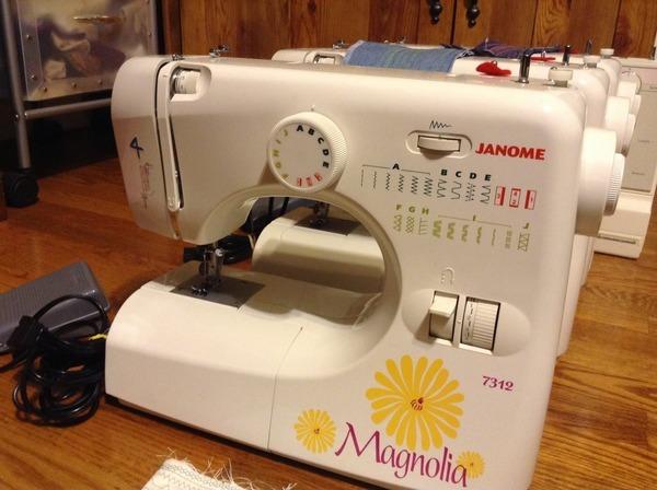 janome 7312 magnolia sewing machine