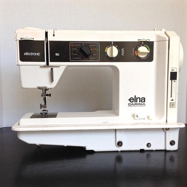 Elna Carina SU40 Sewing Machine Review By Ashley K Adorable Elna Carina Sewing Machine
