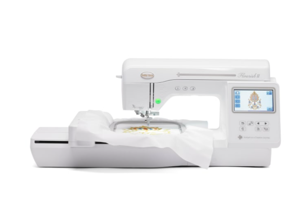 Baby Lock Flourish 40 Embroidery Machine Review By Knitbunnie Best Babylock Sewing Machines Reviews