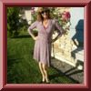 Christine Jonson 526 Wrap Dress