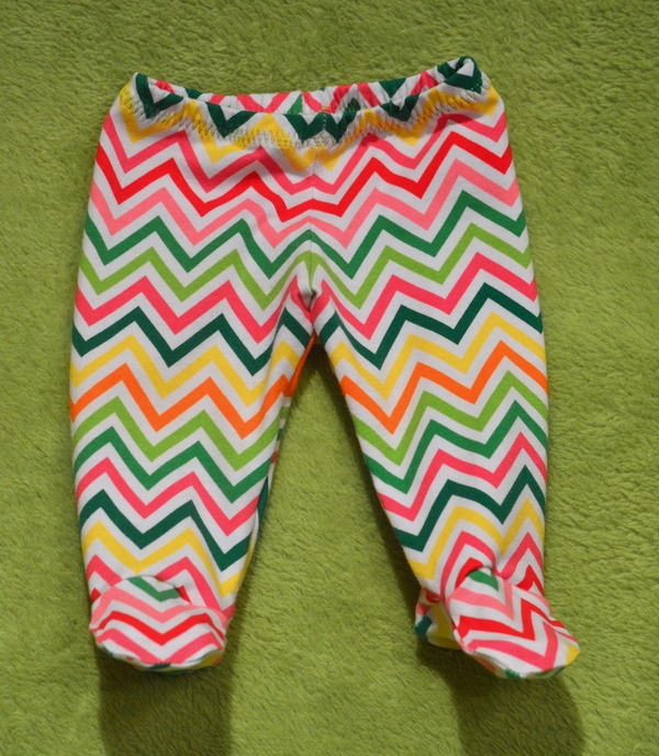 Sew Much Ado Free Footed Baby Pants 08 2014 Pattern Review