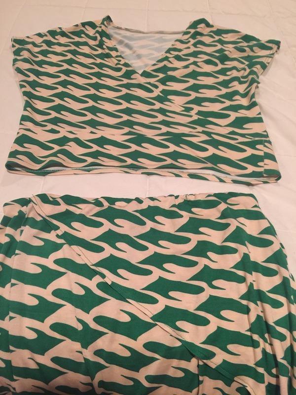 StyleArc Tia Knit Wrap Dress pattern review by karenjoyfesta