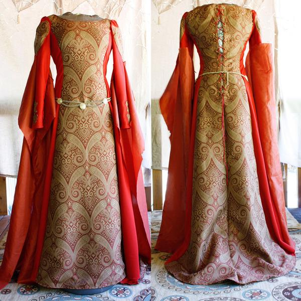 Butterick 4827 Misses Medieval Dress and Belt