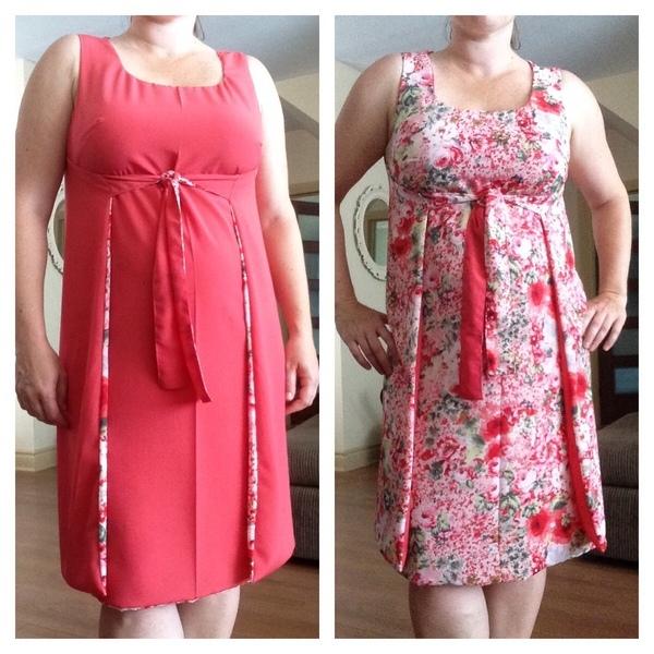 Simplicity 60 Misses' Jiffy Reversible Wrap Dress Custom Pattern Review