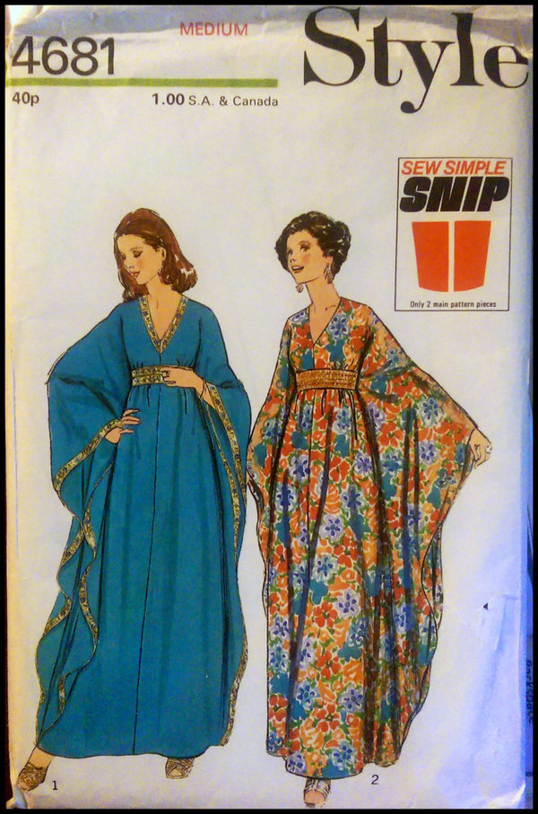 Style Leisure Gown/Caftan 4681 pattern review by StephiLuna