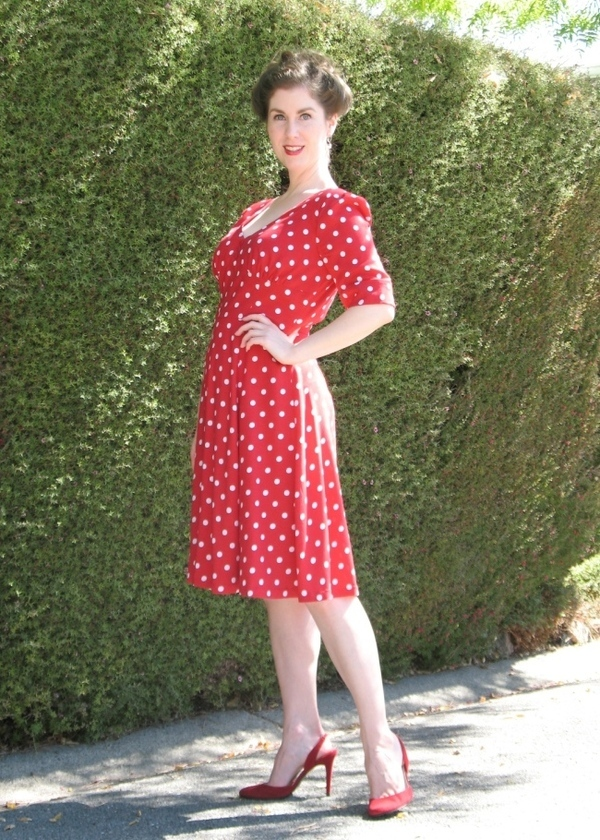 Sew Over It 1940\'s Tea Dress