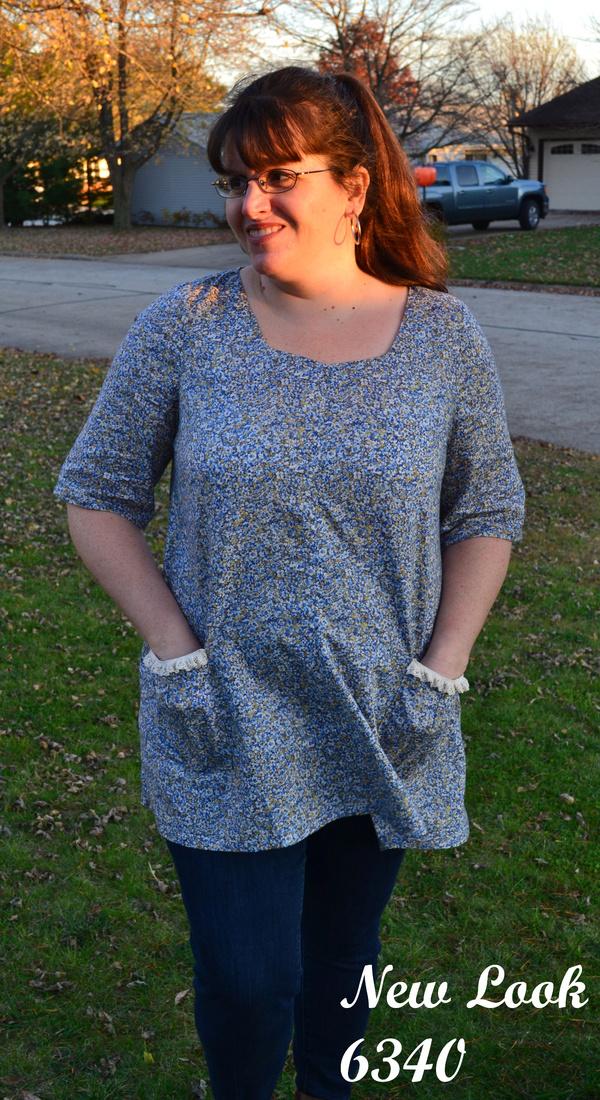 5fb8d74972 New Look 6340 Misses  Easy Dresses